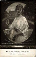 CPA Salon des Artistes Francais 1914 E. ROLLIN - Mon Amie (217662)