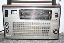 VEGA SELENA 215  8 BAND RADIO  VINTAGE MADE IN RUSSIA SHORTWAVE TRANSISTOR