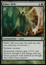 MTG 4x AETHER WEB - RAGNATELA ETEREA - TSP - MAGIC