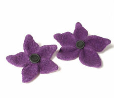 "Knit and Felt Felt Flowers ""Lynne"" Knitting Pattern"