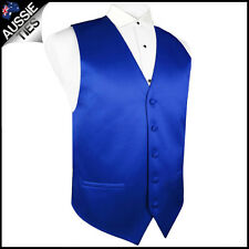 "MENS HIGH QUALITY WAISTCOAT / VEST CHOOSE COLOUR & SIZE (32-60"" chest)"