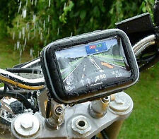 "Waterproof GPS Case with Motorbike/Bicycle Handlebar Mount for 4.3""TOMTOM GARMIN"
