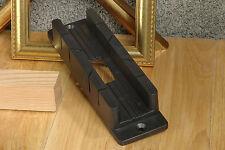 Linic Mini Mitre Block Box 45 & 90 Degree Cut 28mm x 20mm x 190mm W7080