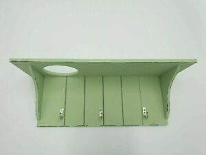 Ascot Wandpaneel Garderobenpaneel Paneel Flur 109cm grün Landhaus 9NNXAS79