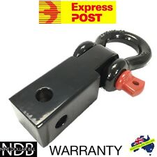 RECOVERY HITCH TOW BAR RECEIVER TOWBAR 4WD 5T BOW SHACKLE FASTPOST & WARRANTY