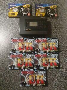 Toshiba KT-4521 Portable Personal Radio Cassette Walkman & Maxell UR 90 Tapes