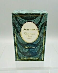 Christian Dior Dioressence One Quarter Ounce Perfume Bottle and Box