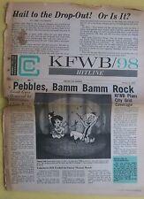 KFWB Hitline Vol 1 No 17 Oct 1965 Flintstones Pebble & Bamm Bamm Tom McEwen