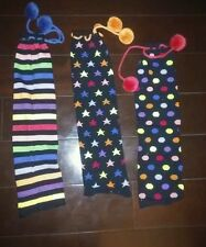 leg warmers small Little MissMatched colorful and cute!