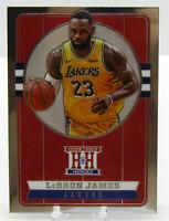 2019-20 Panini Chronicles Hometown Heroes SP LeBron James Los Angeles Lakers