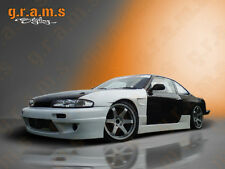 Nissan 200sx S14 S14A Rocket Bunny Style Side Skirts for Body Kit, Racing V6