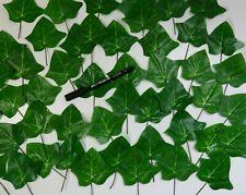 48 Blätter Efeu Seidenblumen Blatt Deko Sträuße Anstecker Geschäftsauflösung