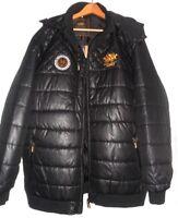 "Large Mens Big Sizes Coats Polo Monica 2x 58  3 62  4x66  58x 68"" 34-35""length."