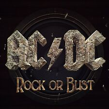 AC/DC Rock Or Bust CD NEW SEALED 2014 Play Ball/Dogs Of War+