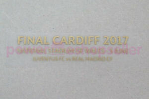 Juventus UEFA Champions League Final Cardiff 2017 Match detail Badge/Patch