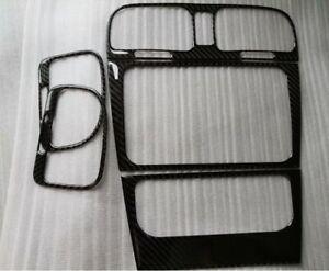 Center side Vent Radio A/C Console Panel Carbon Fiber Cover VW Golf GTI 6 MK6