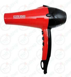 Storm Tech 3500 Professional Hair Dryer Heavy Duty Lightweight Hairs Blower