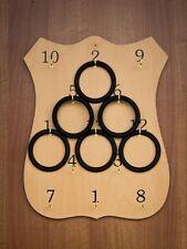 Rings Traditional Irish Board Game | Wooden Ring Board | Rings Game Set