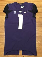 University Of Washington Huskies Authentic Nike Football Jersey #1. Size 40-L