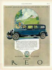 1927 ORIGINAL VINTAGE REO MOTOR CAR MAGAZINE AD