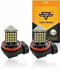 AUXBEAM H11 H16/JP Led Fog Light Bulb 6000K 800lm Signal/Turn/Parking/Tail Light