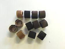 WHOLESALE JOBLOT 12 x HAIR ACCESSORIES PONYTAIL HOLDER ( BROWN BLACK & BLONDE )
