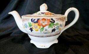 Vintage Grindley England Teapot. Marlborough Royal Petal Pattern