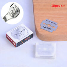 10Pcs Stainless Steel Replacement Blades For Foot Hard Skin Remover Hand FootLy