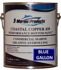 Marine Coastal Copper 450 Ablative Antifouling Bottom Boat Paint Blue Gallon