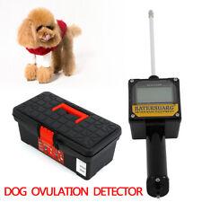 Dog Ovulation Detector Tester Pregnancy Planning Breeder Canine Mating +Case