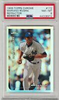 1999 Topps Chrome Mariano Rivera Refractor #172 PSA 8 *Pop 2* 1 Higher - Yankees
