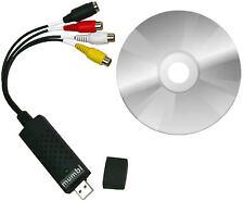 mumbi USB 2.0 Video Grabber Set inkl. Software VHS Digitalisierung