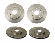 For Acura TL MDX CL TSX Honda Set of 2 Front+2 Rear Disc Brake Rotors BREMBO