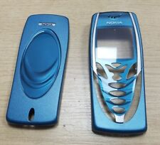Genuine Original Nokia 7210 Front & Back Fascia Cover Housing Blue Grade A