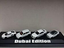 """Modellset """"Dubai Edition"""" Maybach Porsche Cayenne BMW M3 Audi R8 weiß 1:87 Herpa"""