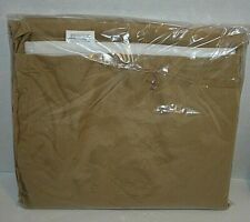 Queen Bed Skirt Brown Tan Mainstays Soft Polyester New