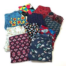 Lot of 12 LuLaRoe Womens Leggings Asst Pattern/Color OS one size