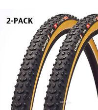 Challenge GRIFO PRO Cyclocross Gravel Tire Clincher BLACK/TAN 700x33c (2 TIRES)