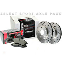 STOPTECH Premium Rotors+Pads Kit for Toyota 07-15 Camry/08-15 Avalon 928.44007