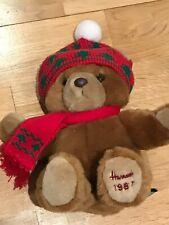 HARRODS Christmas Bear 1987 87 1995 Alfie Knightsbridge Gift GENUINE REPLICA!!