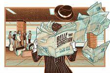 BELLE AND SEBASTIAN CONCERT POSTER LTD EDITION SCREEN PRINT BY SABRINA GABRIELLI