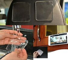 Magic Sticky Pads (10 Pack) Washable & Reusable Anti Slip Kitchen Cellphone Car
