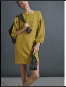 Anthropologie Saturday Sunday Lyla Cozy Tunic Dress NWT XS