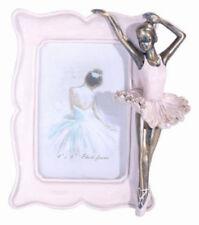 Divine 3d Pink Girl Ballerina Dance Fairy Resin Photo Picture Frame