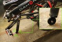 Easy wheel for BROMPTON / Dahon Birdy Fold Bike Seatpost end Saddle Post ezwheel