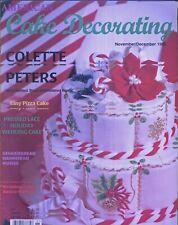 Magazine 062 American Cake Decoratig Sugarcraft Recipes Back Issue Nov-Dec 1995