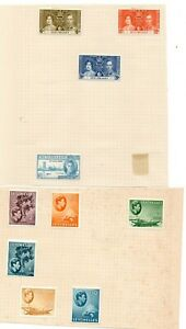 2 Very nice unused Seychelles George VI album Pages