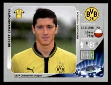Panini Champions League 2012-2013 Robert Lewandowski Borussia Dortmund No. 298