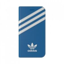 Adidas iPhone 8 / 7 Booklet Case Blue White