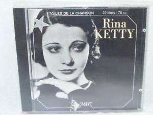 RINA KETTY J'attendrai 22 titres 70mn ÉTOILES DE LA CHANSON 1993 France vintage